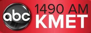 KMET 1490 Logo.  10-15